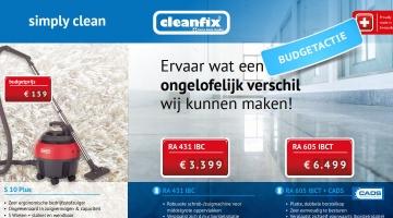 Cleanfix budgetactie 2018