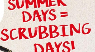 Summer Days Scrubbing days 2018